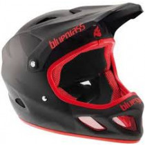 BLUEGRASS Helmet EXPLICIT Size L Black/Red Matte (3HELG01L0NX)
