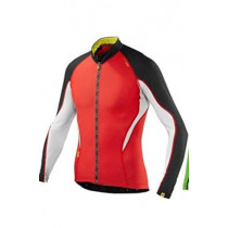 MAVIC  Jersey HC LS Bright Red/Black size M (MS12815456)