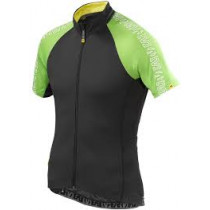 MAVIC  Jersey Sprint Relax Black/Folio Green size L (MS12816458)