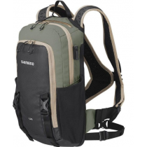 SHIMANO Hydration Backpack UNZEN 6L Khaki with water bag (SHEBGDPMAT206UE1559)