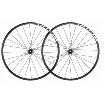 MAVIC Wheelset AKSIUM 700C Disc (12x100mm / 12x142mm) Black (MP8691155)