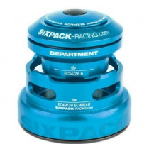 SIXPACK-RACING Headset DEPARTMENT-R Tapered Anod Light-Blue (811435)