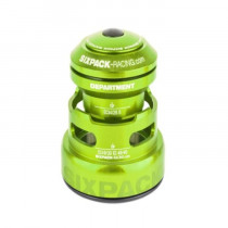 SIXPACK-RACING Headset DEPARTMENT-R Tapered Anod. Green (811433)