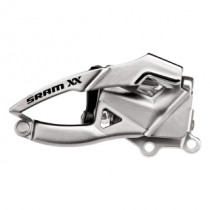 SRAM FRONT Derailleur XX 2x10 Direct Mount S1 42/28 Top pull Silver (00.7615.065.000)