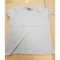 AXEVO Women's Shirt Short Sleeves Grey Size XS