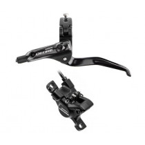 SHIMANO FRONT Disc Brake DEORE T615 PM 160mm (L.1250mm) w/o disc Black (AT615LRXRX125) (160091)