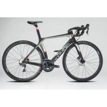 OLYMPIA COMPLETE ROAD BIKE BOOST Carbon DISC - SHIMANO ULTEGRA 8020  - Size M Black/Silver