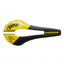 SELLE ITALIA Saddle SP-01 Titanium Superflow S3 TDF Black/Yellow (067P901IZA005)