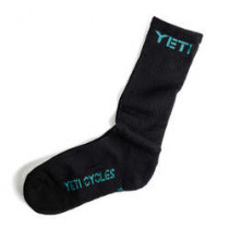 YETI DH Socks Black/Turquoise Size 37 (A2617743.37)