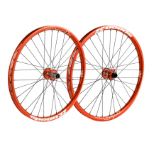 "SPANK Wheelset SPOON 32 26"" Disc (20x110mm / 12x150mm) Orange (C08SN321260ASPK)"