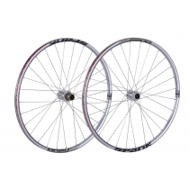 "SPANK Wheelset OOZY TRAIL 260 EVO 26"" Disc (15x110mm / 12x142mm) Chrome (C08OZ26380AMSPK)"