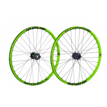 "SPANK Wheelset SPIKE RACE 28 26"" Disc (20x110mm / 12x150mm) Green (C08SR281271ASPK)"