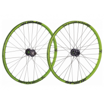 "SPANK Wheelset SPIKE RACE 28 DH 26"" Disc (20x110mm / 12x150mm) Green (C08SR02071AMSPK)"
