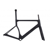 3T Frameset STRADA TEAM Disc Carbon Stealth Black + Fork Size XL