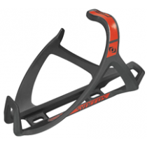 SYNCROS Bottle Cage TailorCage1.0 Left One SizeBlack/ Rally Red (250589)