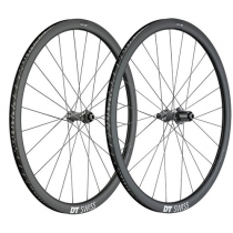 DT SWISS Wheelset PRC 1450 SPLINE 35 DB Carbon Disc 700C (12x100mm / 12x142mm) XDR Black (WPRC145AIDXCO11052 / WPRC145NID1CO11053)