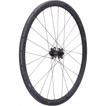 RITCHEY Front Wheel WCS Apex II 36 Disc Carbon Tubular 700C Black (796941710183)