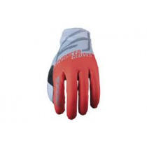 FIVE Pairs Gloves XR-LITE -SPLIT FLUO Red/Grey Size L (C0120068410)