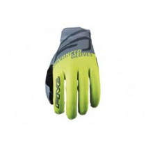 FIVE Pairs Gloves XR-LITE -SPLIT FLUO Yellow/Grey Size M (C0120063309)