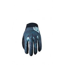 FIVE Pairs Gloves  XR-PRO WOMAN  FLOWER Blue M (C0920043009)
