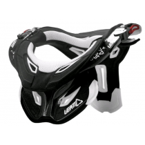 LEATT Neck Brace DBX Pro - Carbon Black/ White Size S (0100230201)