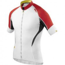 MAVIC Jersey HC White/Bright Red size L (MS12815358)