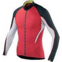 MAVIC Jersey HC LS Bright Red/Black Size L (MS12815458)
