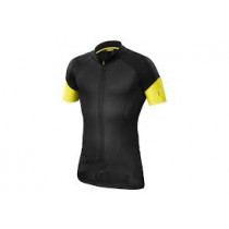 MAVIC Jersey Cosmic Pro Black/ Yellow  Mavic Size L (MS38043023)