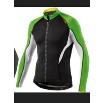 MAVIC Jersey LS HC Black/Folio Green Size L (MS35684758)
