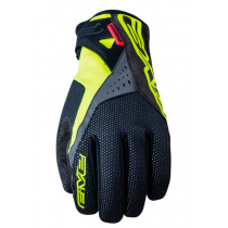 FIVE Pairs Gloves WP-WARM  Black /Fluo Yellow Size S (C0720011608)