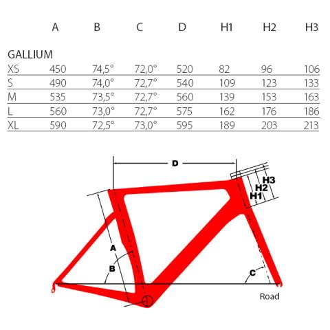 Argon18 Frameset Gallium Carbon Black Glossy White Glossy Fork Size Xl Gall Xl 211a Fs Rcz Bike Shop