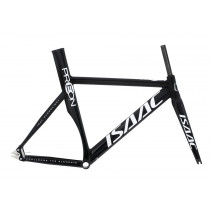 ISAAC Frameset PREON Isat Hydrolight + Fork Carbon Size 57 Black Glossy (ISC001495)