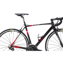 SCAPIN 2019 Frame ANOUK Carbon + Fork Size L Black/Red