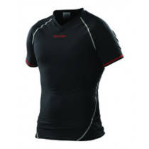 TROY LEE DESIGNS Ace Baselayer Short Sleeve Black Size S (A3117244.S)