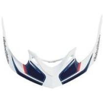 TROY LEE DESIGNS Helmet Visor Reflex A1 White/Navy (A3116051)