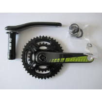 SRAM Chainset S2220 Carbon 2x10 28/42 BB30 170mm Black (1013-170)