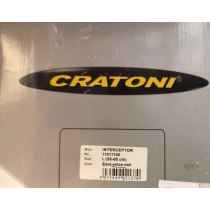 CRATONI Helmet INTERCEPTOR Black/Yellow Matt Size L (04230386)