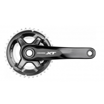 SHIMANO Chainset XT FC-M8000 2x11 24/34T w/o BB 170mm Black (IFCM8000CX44)
