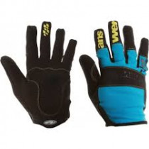 ANSWER Pairs Gloves Enduro Cyan/ Team Size S/M  (30-25275-F107)