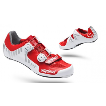 SUPLEST Shoes STREETRACING S8+ A-TOP Carbon White/Red Size 41 (01.029.41)