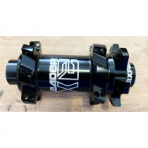 SIXPACK-RACING FRONT Hub LEADER 28H Straight Pull Thru-Axle 15mmBlack (TD-81T)