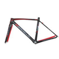 MARCELLO Frameset HP3 Carbon 700C + Fork Size 50 Black/Red