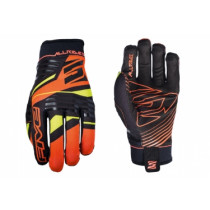 FIVE Pairs Gloves ALL RIDE  REPLICA Fluo Orange Size S (C0217026208)
