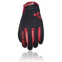 FIVE Pairs Gloves XC-R  Black/Red Size M (C0117010309)