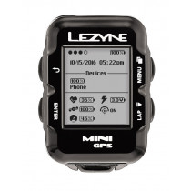 LEZYNE MINI GPS Y10 With HR Loaded Box Black (KMLEZ87269)