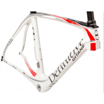 DEFINITIVE GITANE Frame THE ONE Carbon 700C Size 55 White (C1306201-550-04)