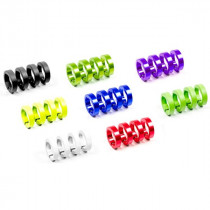 SIXPACK-RACING Clamp Ring LOCK-ON Azur Blue (200010)