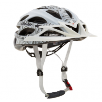 LIMAR Helmet MTB ULTRALIGHT+ Matt White/Silver Size M (C104+MTB11T6AS)