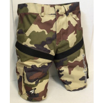 SHOCK THERAPY Short Hardride Camouflage Beige Size 36