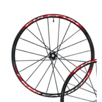 """FULCRUM FRONT Wheel RED Carbon 26"""" Disc Black (RMC-9DFK)"""